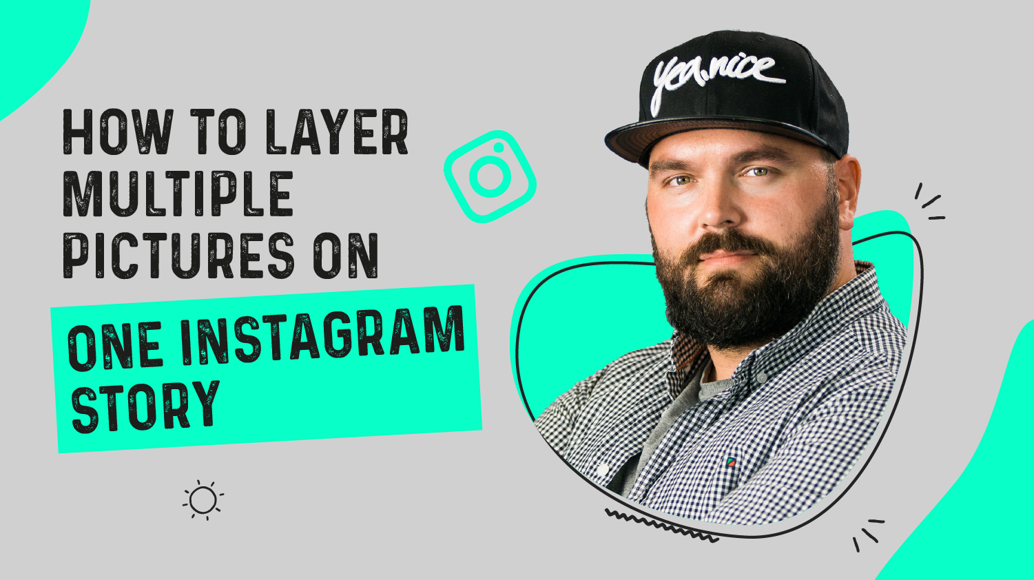How to Layer Multiple Pictures on One Instagram Story